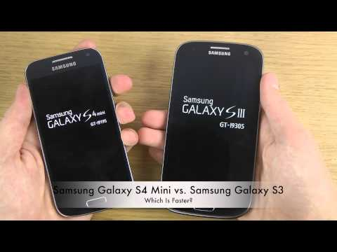 Samsung Galaxy S4 Mini vs. Samsung Galaxy S3 - Which Is Faster?, ►►► Check out main channel for more awesome videos: ►►► http://goo.gl/o0l91 Hi, and welcome to my tech channel. My name is Adrian Isén and I'm a swedish YouT...