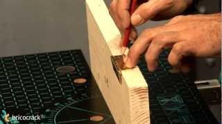 Como poner bisagras de libro