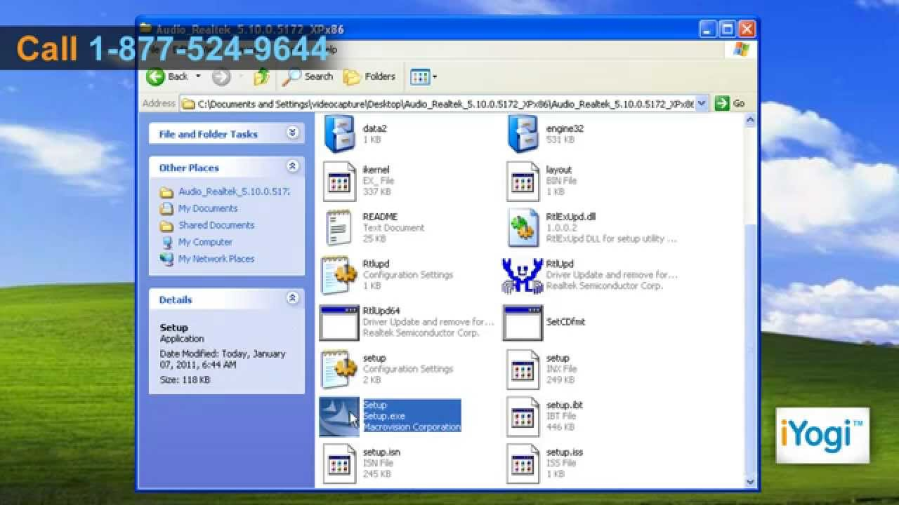 How to install Windows XP drivers