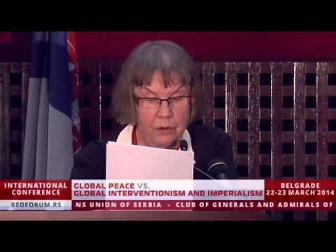 AGNETA NORBERG (SWEDEN) - (Global Peace vs. Global Interventionism and Imperialism)