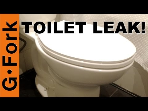 Toilet Leak! Toilet Wax Ring Replacement - GardenFork