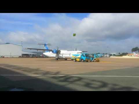 Dạo 1 vòng từ ga quốc tế sang quốc nội sân bay TSN(TSN international airport )