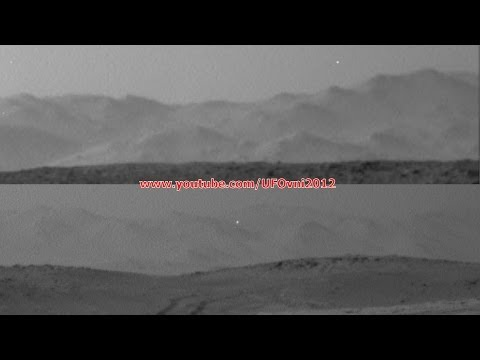 UFO Arrives On Mars, Curiosity NASA, June 23, 2014