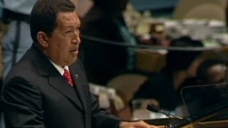 "2006: Chavez Calls George Bush ""The Devil"""
