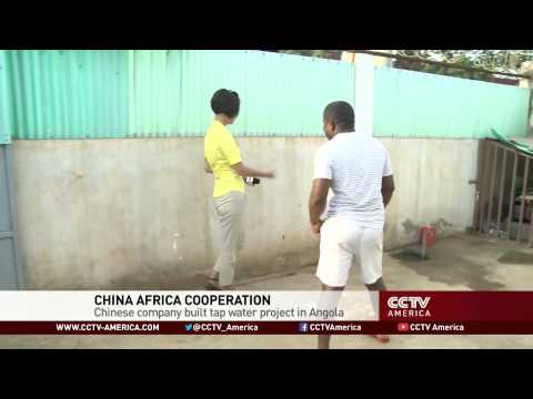 China Helps Bring Clean Water to Angola