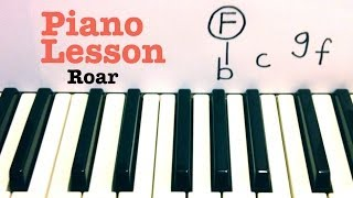 Roar- Piano Lesson- Katy Perry (Todd Downing)