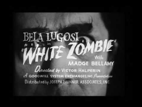 Trailer - White Zombie (1932), The first zombie film... ever! Bela Lugosi stars, in arguably his best performance next to Dracula, as Murder Legendre, voodoo master and keeper of the undea...