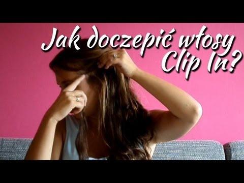 Jak doczepić włosy clip in - Hair Extensions
