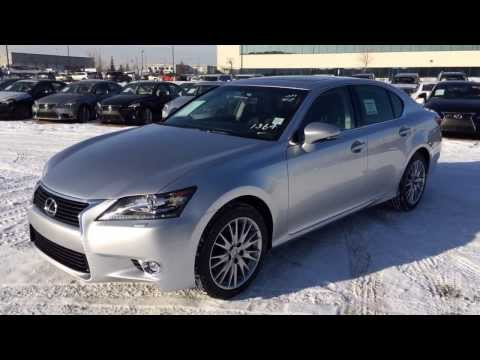2014 Lexus GS 350 AWD Grey Liquid Platinum - Technology Package Review