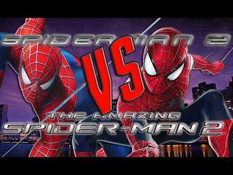 Spider-Man 2 (2004) VS The Amazing Spider-Man 2 (2014)  [HD]