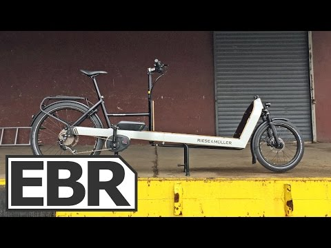 Riese & Müller Packster Touring 80 Video Review - Extra Long Electric Cargo Bike
