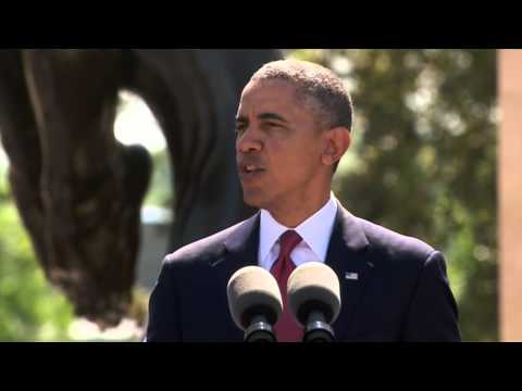Video: President Obama's speech on 70th anniversary of D-Day invasion