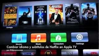 Cambiar Idioma Y Subtitulos De Netflix En Apple TV