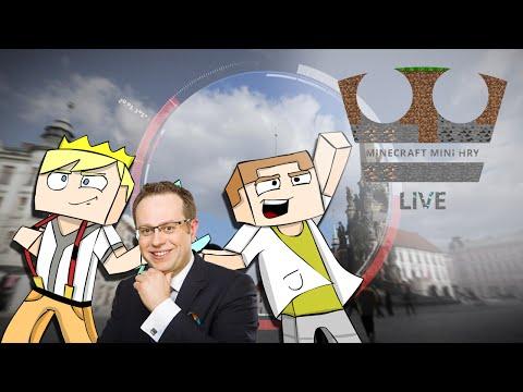 Jirka a GEJMR a Václav Moravec Hrají - Minecraft Mini hry - LIVE