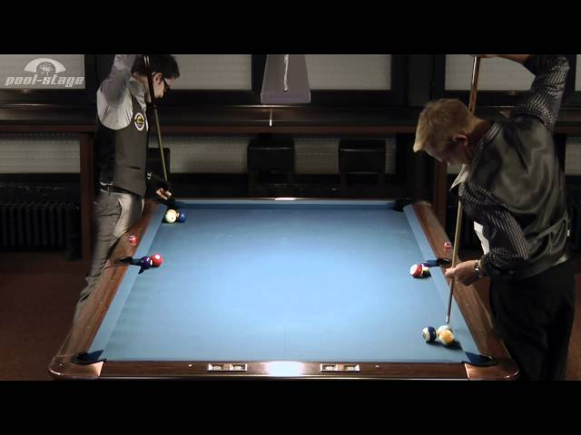 "Amazing Pool Trick Shots Collaboration by  Ralph G. Eckert and Florian ""Venom"" Kohler!"