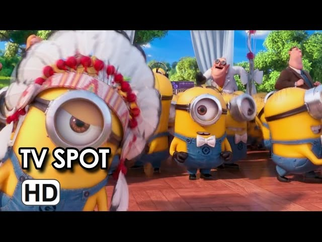 Despicable Me 2 TV SPOT - Village Minions (2013) - Animated Sequel HD