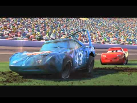 Cars Final Race Its Just An Empty Cup Youtube