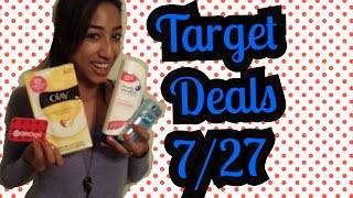 Target Couponing Haul: 7/27-8/2/14