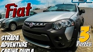 Fiat Strada Adventure Cabine Dupla 3 Portas, Review