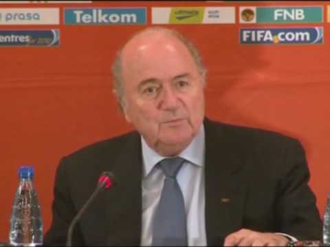 FIFA World Cup 2010 - Blatter backs African Olympics