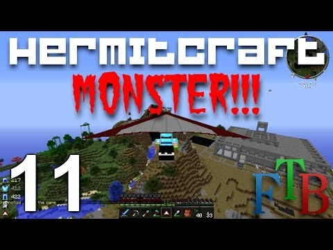 Hermitcraft FTB Monster Ep. 11 - Advanced Genetics