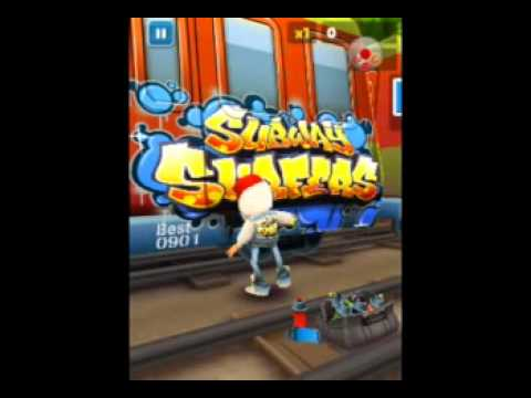 Subway surfers for samsung galaxy pocket - YouTube
