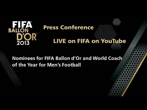 COMING SOON - LIVE: FIFA Ballon d'Or and World Coach of the Year Nominee Press Conference