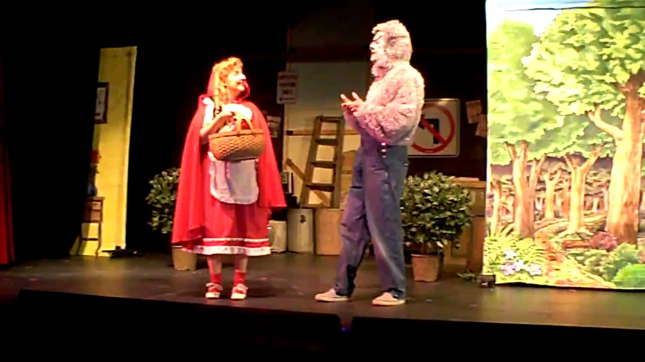 little red riding hood play