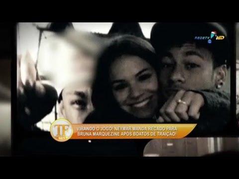 Neymar manda recado para a namorada após boatos de traição