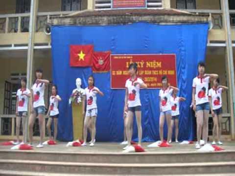 Run to you. Trường THCS TT Phong Hải (Nhảy Aerobic)
