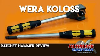 Wera Koloss ratchet  review