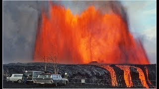 WOW! Huge Hawaii Kilauea Volcano Lava Eruption Just Produced Matrix Glitch In Reality! WOW