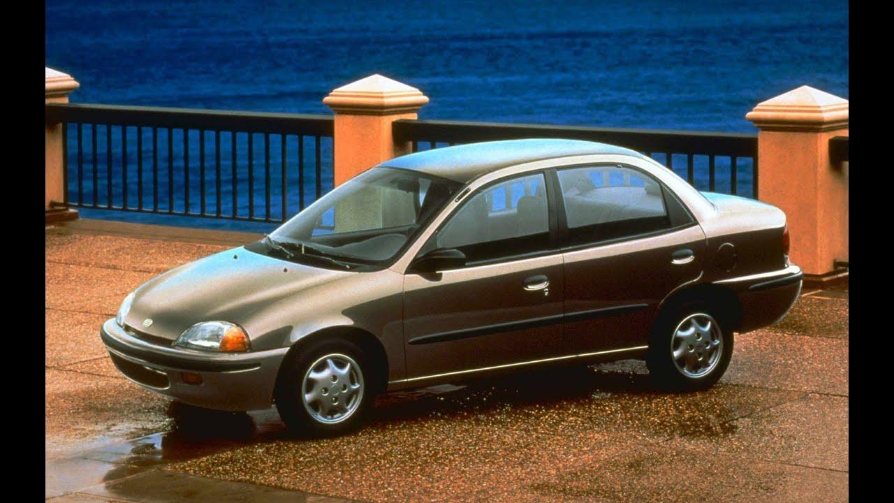 1997 Geo Metro Sedan 4 Door