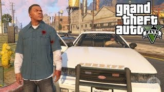 GTA 5: Raise & Lower Wanted Level CHEAT! Xbox 360 + PS3