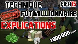 FUT 15 •• ACHAT REVENTE 1 000 000 DE CREDITS PAR