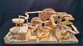 Marble Machine - Triple Gears Lift (Three Blocks Marble Race)