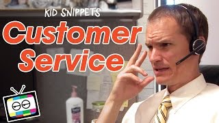 Customer Service as Imagined by Kids