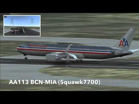 American Airlines B767-300ER Infinifte Flight Sim