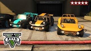 GTA 5 DUNE BUGGIES! New Add Ons Fun On The Beach Grand