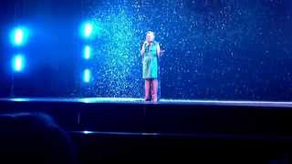 "Olivia Sings ""Let It Go"" From Frozen In The NRCA Talent"