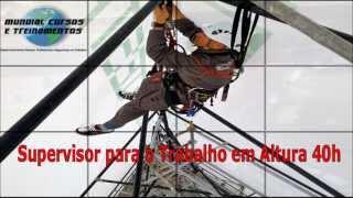 Supervisor para o Trabalho em Altura 40h   - youtube
