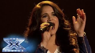 """Khaya Cohen """"Lets It Be"""" THE X FACTOR USA 2013"""