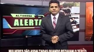 Mulheres s�o assaltadas quando rezavam o ter�o em Oliveira