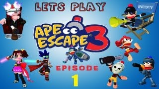Let's Play Ape Escape 3! #1 The Start Of Something New