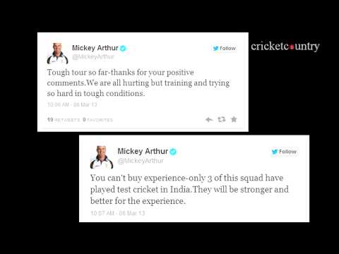 Mickey Arthur deletes Twitter account after abuse by fans