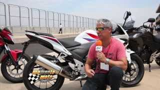 A Novíssima Honda CBR 500 R
