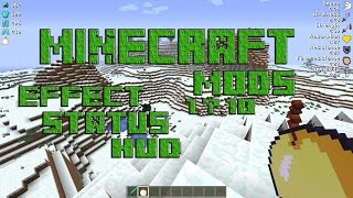 MINECRAFT MODS 1.7.10 EFFECT STATUS HUD! TUTORIAL