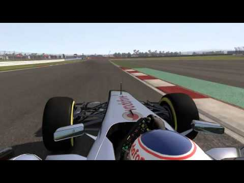 F1 2011: Korean GP Pole Lap