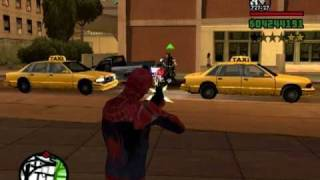 Homem Aranha No GTA San Andreas