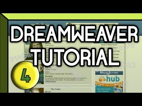 HTML5 & CSS3 | 2 Column Website | Dreamweaver Tutorial